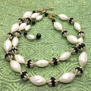 DEAUVILLE Double Strand Necklace